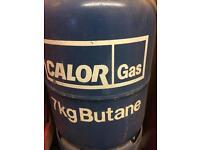 Empty calor gas 7kg butane