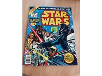 Star Wars Marvel Collectors Edition Oversize Comic 1977, VG