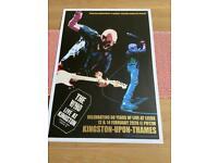 The Who Kingston Print