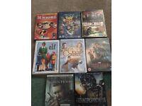 DVD bundle transformers elf incredibles and kids dvds