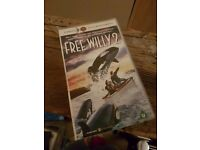 Free Willy 2 VHS Tape