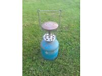 Campingaz canister for boat or caravan