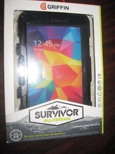 "Griffin Survivor Case for Samsung Galaxy Tab 4 7"". NEW. Shockproof, Dustproof, Waterproof."