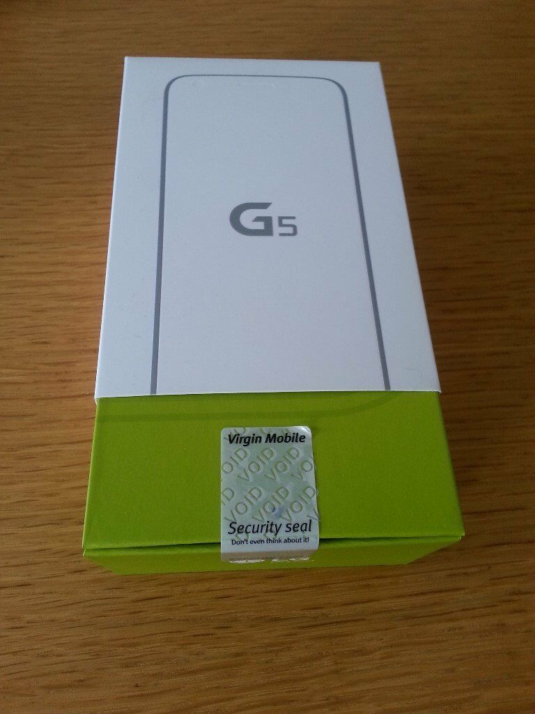 LG G5 H850 - 32GB - Brand New - Unlocked SIM Free