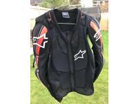 Alpinestars Bionic Plus Jacket Body Armour Zip Up Medium Enduro Supermoto