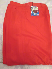 BNWT Pair of Red Dunlop Golf Trousers £8