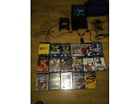 Sony Joytech Playstation 2 Portable+2 Controllers+Power Adapters+17 Games+8 GB Memory Card+AV+Bag