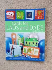 CARDS FOR LADS & DAD'S BY ELIZABETH MOAD - BRAND NEW
