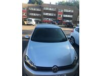 Golf tdi 2.0 litre 5 door silver for sale minor dent on offside wing low mileage 4,000 or Ono