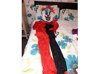 BO BO Clown costume LIKE NEW