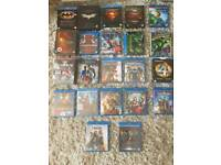 marvel and dc blu rays
