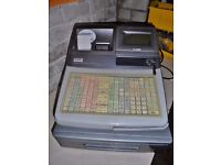 CASIO TF4500f electronic cash register.
