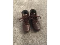 Ladies Hotter walking boots brown size 4