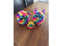 Furby boom crystal rainbow version