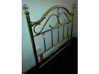 Vintage Double Bed Head frame