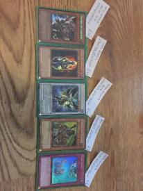Yu-Gi-Oh LIMITED EDITION Cards