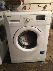 Beko WM74135W, Washing Machine, 7KG, 1300RPM, Polar White