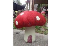 Red dottie toadstool