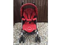 Maxi-Cosi CabrioFix Travel System - Pushchair / Buggy, Car Seat & Base / Adapter