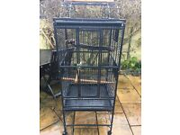 Parrot cage play top