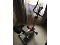 Exercise Bike with a working speed computer and variable resistance