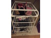 Ikea Plastic drawers