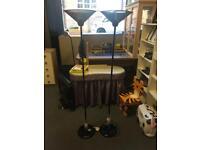 Set Of Micromark Mesh Floor Lamp
