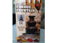 Chocolate fountain - new and unused