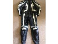 Spyke two piece leathers