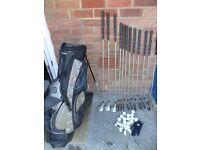 ladies wilson prostaff full set golf clubs