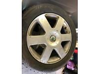 Skoda Octavia alloy wheels and tyres