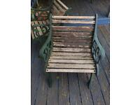 Metal Garden Chairs and Table Frames