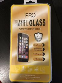GENUINE iPhone tempered glass screen protector for iPhone 7 plus 6 6s plus 5 5s