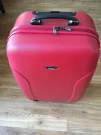 """Antler 26"""" 4 Wheels luggage in red"""