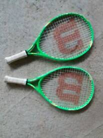 Wilson Kids Tennis Rackets 19""