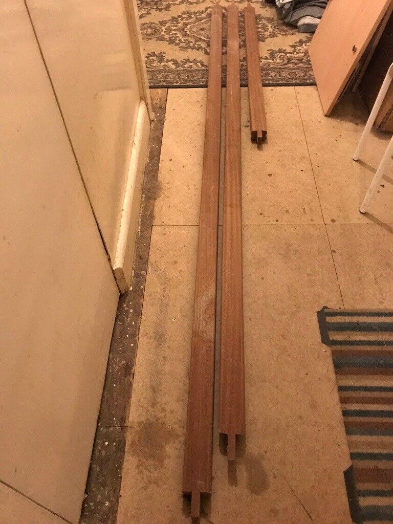 Hardwood Banister Rail - 3 lengths