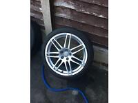 "Genuine 19"" Audi rs4 alloys"