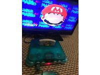 N64 ice blue