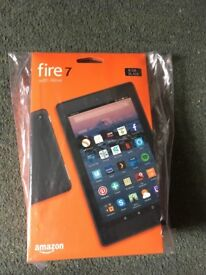 KINDLE FIRE 7 with ALEXA 8GB BLACK - BRAND NEW AND UNOPENED