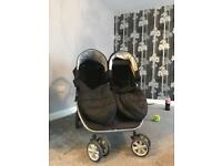 Free double pushchair