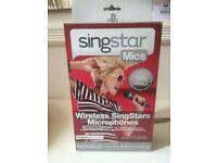 PS3 Singstar Wireless Microphones