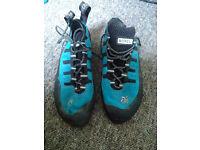 Boreal Joker Climbing Shoes, Nearly New, Size 8