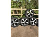 MAZDA ALLOY WHEELS & TYRES 205 50 ZR 17