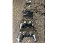 Play station remotes and docking station