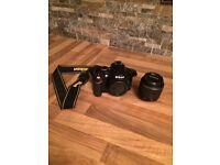 NIKON D3200 digital SLR camera with 18-55mm VR II lens (24.2MP) 3 inch LCD.