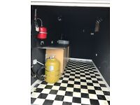 Box Trailer With Solar Panel & Kitchen Setup. Used for shows/demonstrations