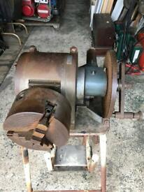 """Cuncliffe & Croome 5"""" Fully Universal Dividing Head 3 Chuck"""