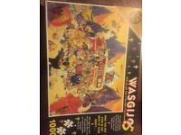 Variety of wasgij jigsaws all complete!
