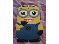 iPad mini minions rubber case