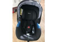 Silver Cross Simplicity Baby Car Seat Shell (Black)